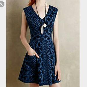 Plenty by Tracy Reese Diamond Denim Dress